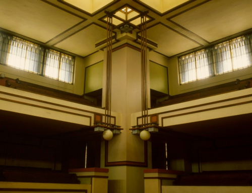 CENTER OF ATTENTION IN UNITY TEMPLE